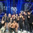 Brahim Zaibat en live lors de la demi-finale de Danse avec les stars 5, le samedi 22 novembre 2014