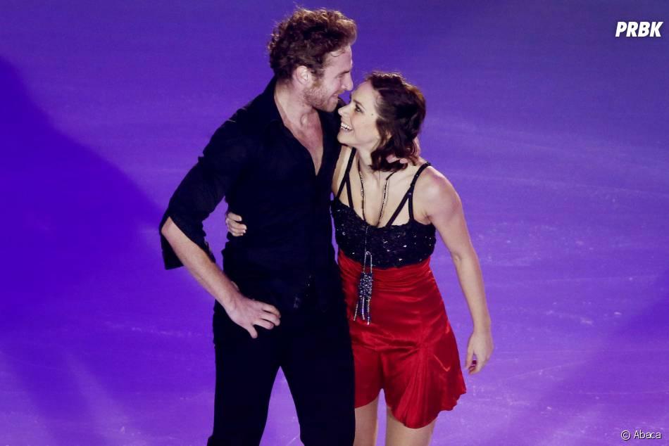 Nathalie Péchalat et Fabian Bourzat complices le 23 novembre 2014