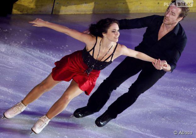 Nathalie Péchalat de retour sur la glace avec Fabian Bourzat le 23 novembre 2014