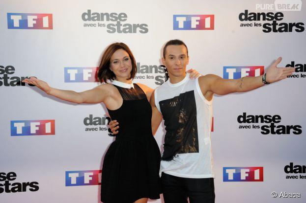Danse avec les Stars 5 : Nathalie Péchalat et Grégoire Lyonnet en binôme au début de la saison