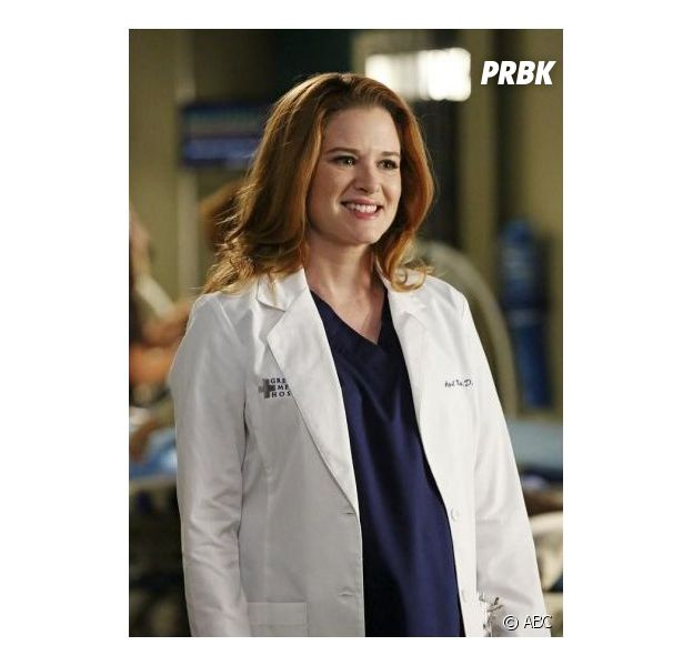 Grey's Anatomy saison 11, épisode 8 : Sarah Drew sur une photo