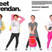 Diva Kid de retour : Brendan devient mannequin pour American Apparel