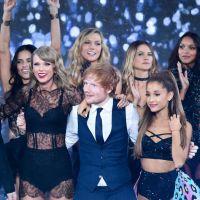 Ariana Grande : sa blague coquine (et involontaire ?) à Ed Sheeran pendant le show Victoria's Secret