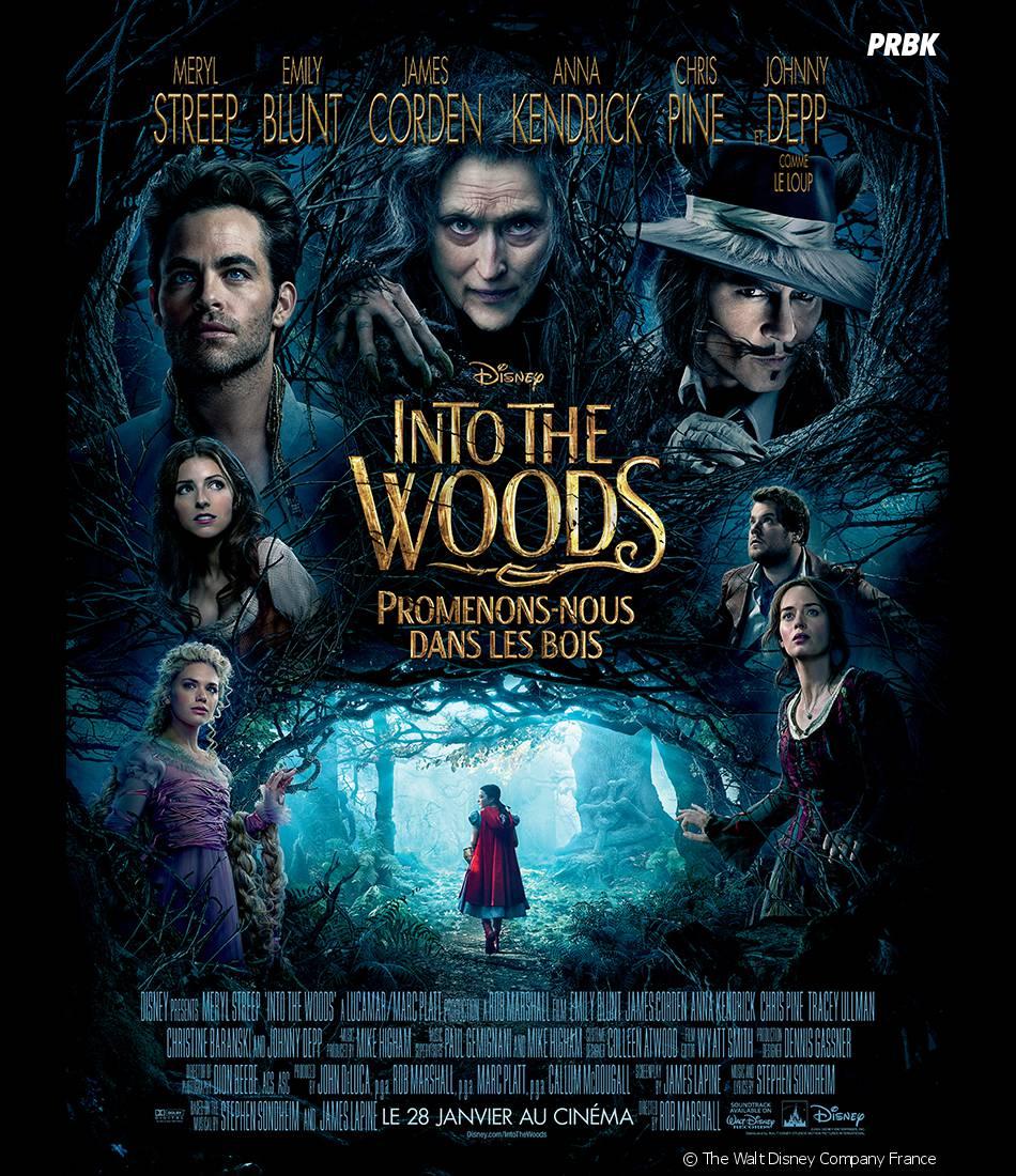 Golden Globes 2015 : Into the Woods nommé