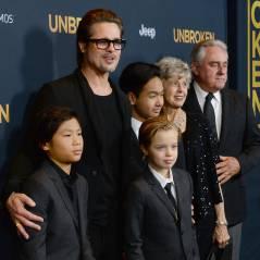 Brad Pitt en famille sur le tapis rouge d'Invincible, Angelina Jolie clouée au lit avec la varicelle