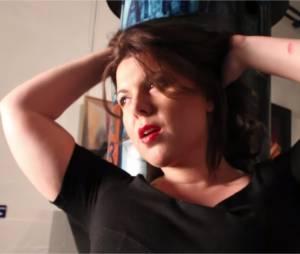 Cindy Lopes dans le clip de Jamais syncro