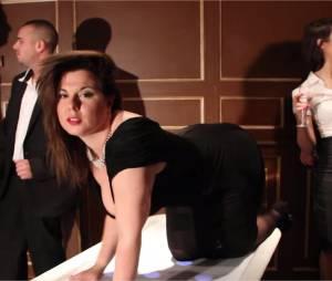 Cindy Lopes hot dans le clip de Jamais syncro