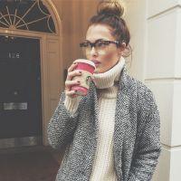Caroline Receveur : changement de look pour un week-end en famille à Londres