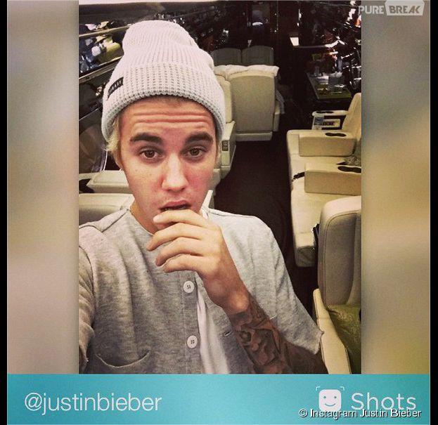 Justin Bieber, mensonge sur Instagram : le jet privé n'était pas à lui