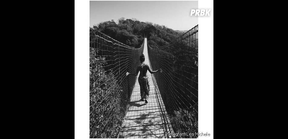Lea Michele : vacances au Mexique en janvier 2015