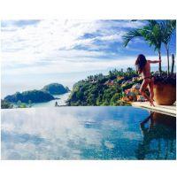 Lea Michele topless et en string : les photos de ses vacances sexy avec Matthew Paetz