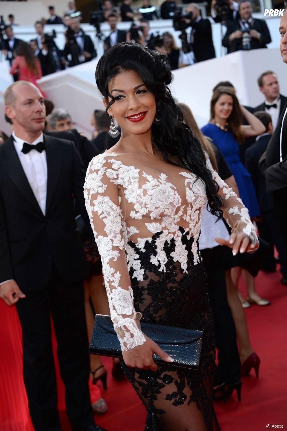 Ayem Nour au Festival de Cannes 2014