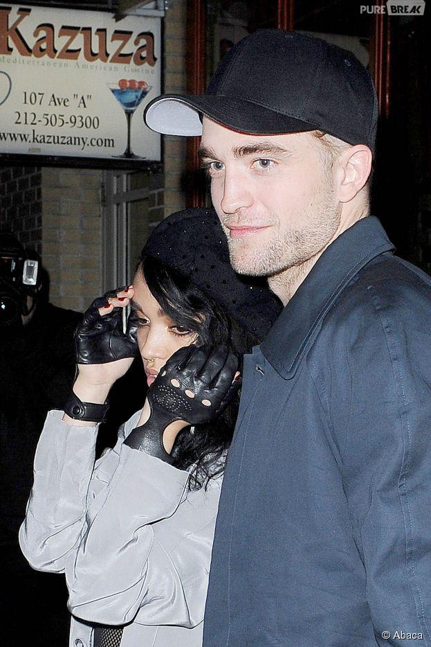 Robert Pattinson : sa chérie FKA Twigs pose topless