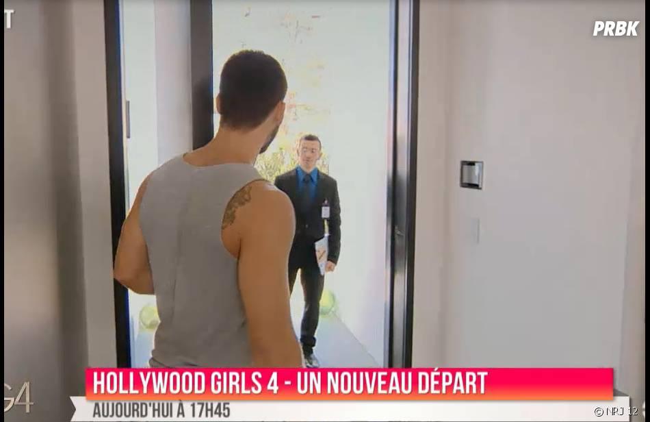 Hollywood Girls 4 : Kevin face à un agent des services d'immigration