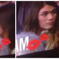 Ignorée par son petit-copain, elle embrasse un autre homme devant des milliers de spectateurs