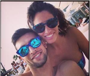 Javier Pastore et sa copine Chiara Picone amoureux et sexy pendant l'été 2014