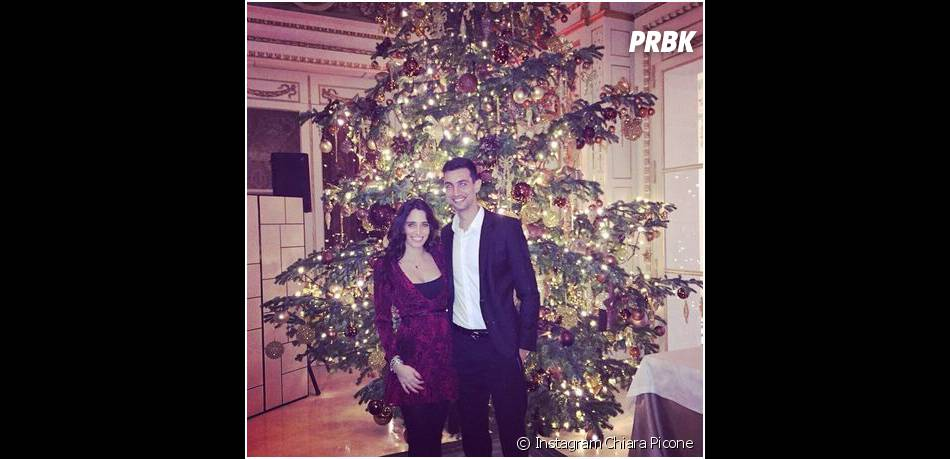Javier Pastore et Chiara Picone en couple pour le Nouvel An 2015
