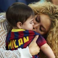 Shakira enceinte : baby shower caritative avec Gerard Piqué et Milan pour l'UNICEF