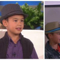 Bruno Mars remplace Mark Ronson par un enfant pour un duo adorable sur Uptown Funk