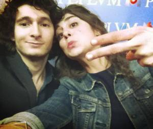 Anthony Sonigo et Lou Chauvain à la soirée de présentation de Peplum le 22 janvier 2015 à Paris