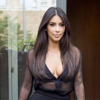 Kim Kardashian bientôt nue et enceinte pour un shooting... pour concurrencer sa soeur Kourtney ?