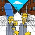 Les Simpson : dessin percutant pour rendre hommage 70 ans après la libération du camp d'Auschwitz