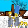 Les Simpson rendent hommage 70 ans après la libération du camp d'Auschwitz