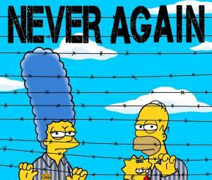Les Simpson : 70 ans après la libération du camp d'Auschwitz, les personnages rendent hommage
