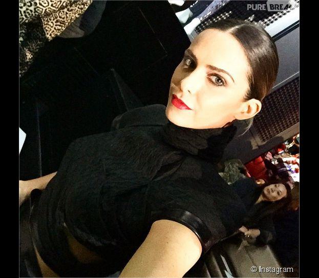 Clara Morgane sexy au défilé On aura tout vu le 26 janvier 2015
