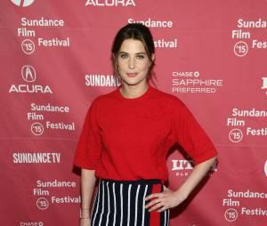 Cobie Smulders maman : sexy en jupe moulante le 25 janvier 2015 à Sundance, trois semaines après son accouchement