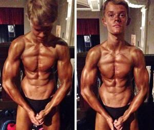 Cosmo Taylor : un pro du bodybuilding à 15 ans
