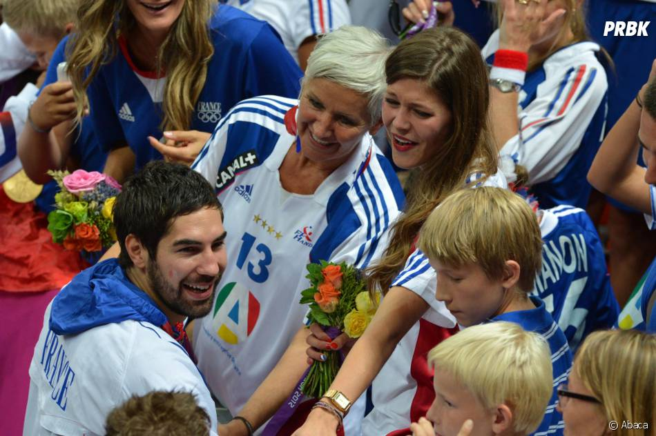 Nikola Karabatic et sa copine, Géraldine Pillet