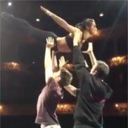 Priscilla Betti : l'héroïne de Flashdance s'essaie au porté de Dirty Dancing !