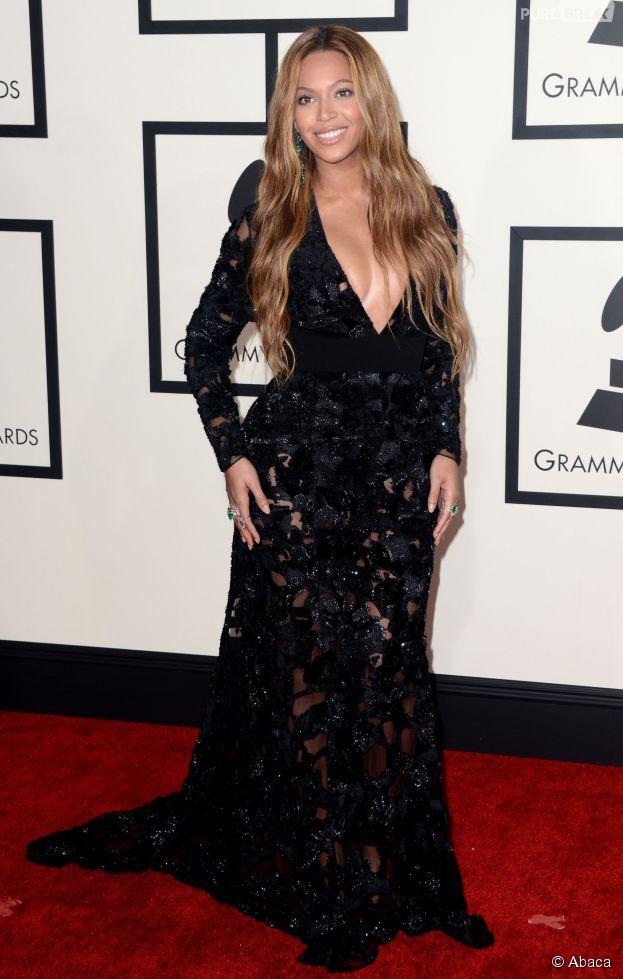 Beyoncé grande gagnante es Grammy Awards 2015, le 8 février, à Los Angeles