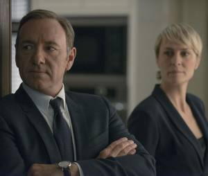 House of Cards saison 3 : Kevin Spacey et Robin Wright sur une photo