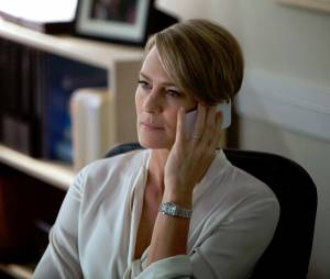 House of Cards : Robin Wright sur une photo