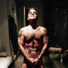 Robbie Williams complètement nu sur Twitter... pour concurrencer Kim Kardashian