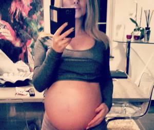 Stéphanie Clerbois a accouché de son premier enfant le 14 février 2015