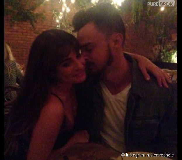 Lea Michele : rendez-vous romantique avec Matthew Paetz pour la Saint-Valentin, le 14 février 2015