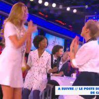 Camille Cerf (Miss France 2015) : danse sexy avec Enora et confidences sur son copain dans TPMP