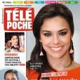 Marine Lorphelin en Une du magazine Télé Poche du 28 février 2015 au 6 mars