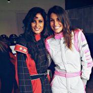Malika Ménard et Laury Thilleman inséparables et prêtes à concurrencer Super Mario au Mans