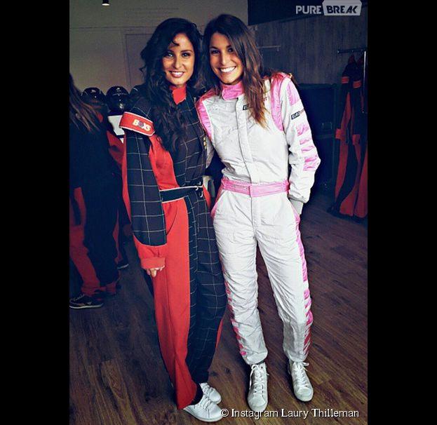 Laury Thilleman et Malika Ménard se retrouvent au Mans