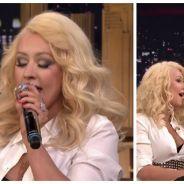 BLUFFANT : Christina Aguilera imite à la perfection Britney Spears en direct à la TV !