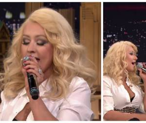 Imitation de Britney Spears par Christina Aguilera