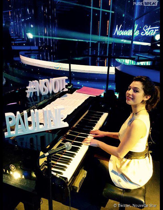 Pauline éliminée en quart de finale de Nouvelle Star 2015