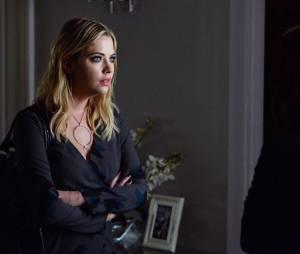 Pretty Little Liars saison 5, épisode 22 : photo d'Ashley Benson (Hanna)