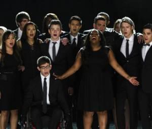 Glee saison 5 : photo de l'épisode hommage à Cory Monteith