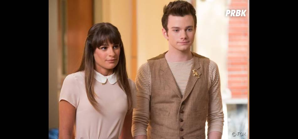 Glee saison 5 : Lea Michele et Chris Colfer dans l'épisode hommage à Cory Monteith