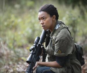 The Walking Dead saison 5 : Sasha sur une photo